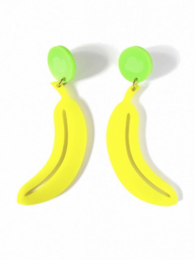 Boucles d'oreilles bananes, Jule et Lily 20 €