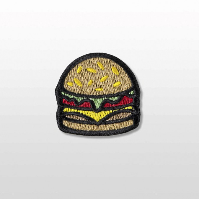 Écusson burger, Bernard Forever 5€