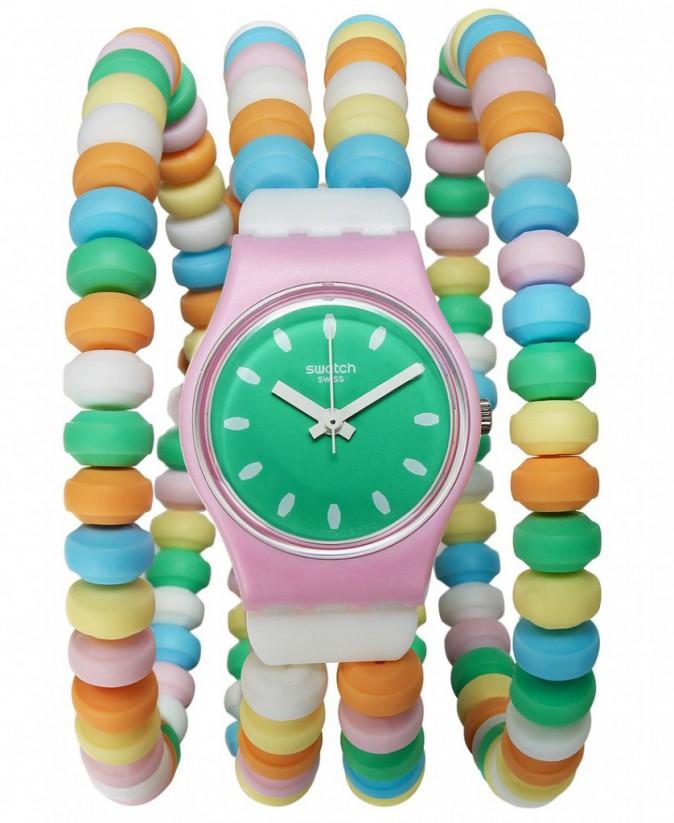 Montre Caramellissima, Swatch 45 €