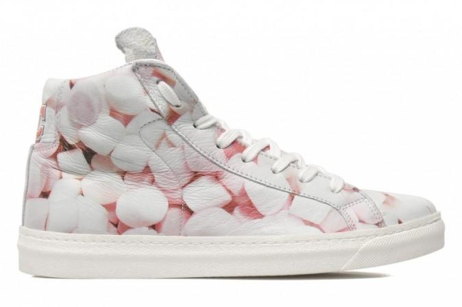 Sneakers en cuir imprimé marshmallows, American College 139 €