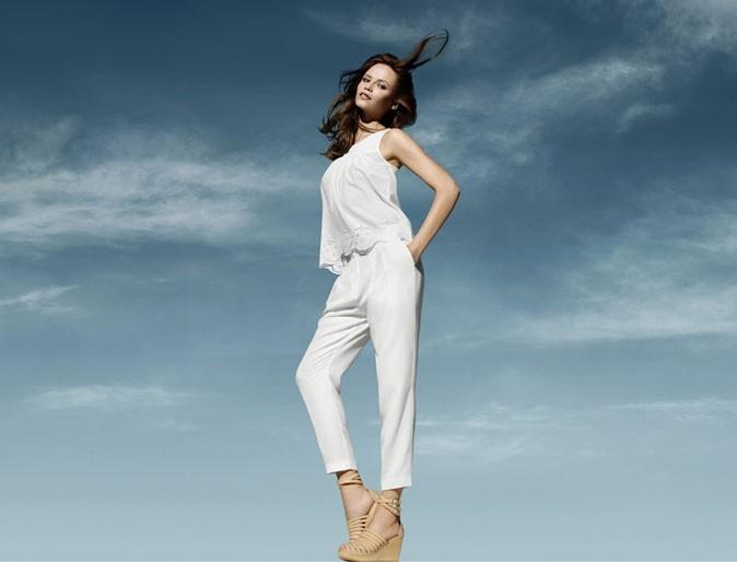 Mode : un pantalon blanc H&M Conscious