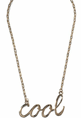 """Collier """"cool"""", New Yorker 4€"""