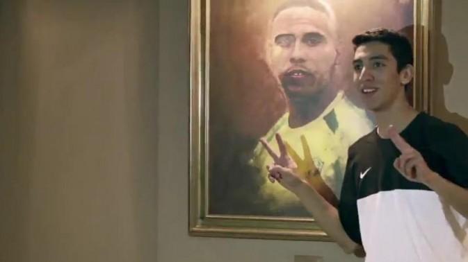 Ronaldo (sur le tableau)