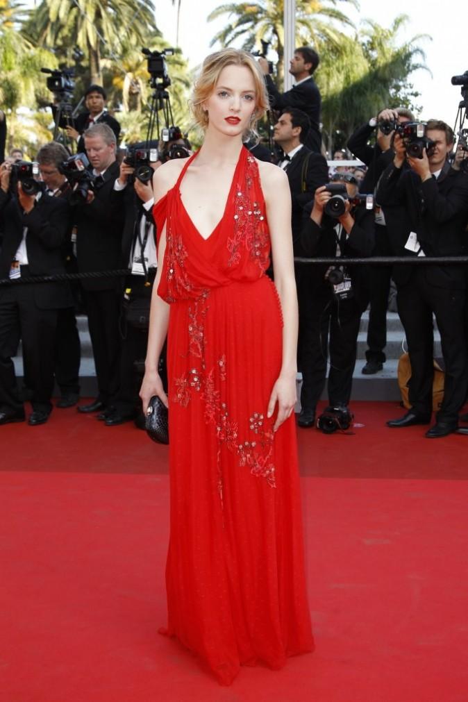 Daria Strokous à Cannes
