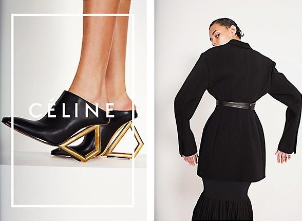 Mode : Daria Werbowy : le top modèle le plus charismatique du moment pose pour Céline !