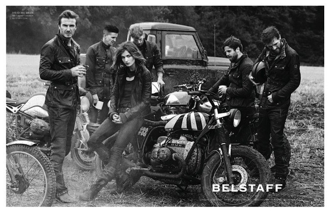 David Beckham, héros de la nouvelle campagne Belstaff !