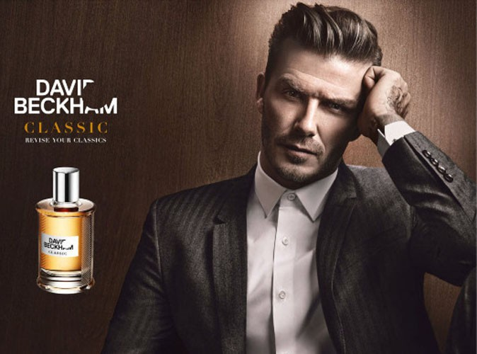 David Beckham pour la campagne de son parfum Classic !