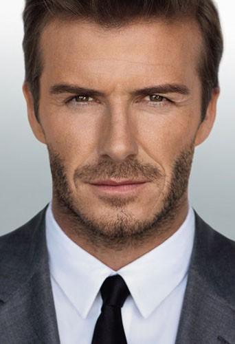 David Beckham pour la campagne de son parfum Homme !