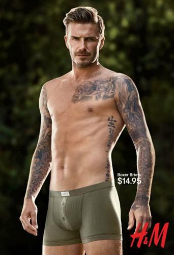 David Beckham pour la campagne H&M Underwear !