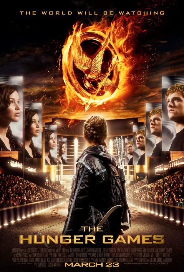 L'affiche d'Hunger Games