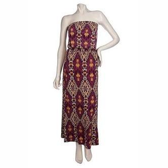 Mode : une robe tendance ethnique signée K-Dash by Kardashian