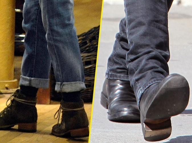 Des chaussures de combat pour affronter les paparrazzi