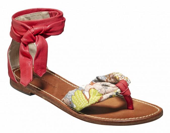 Les sandales à lanières en cuir Mellow Yellow à 100€ !