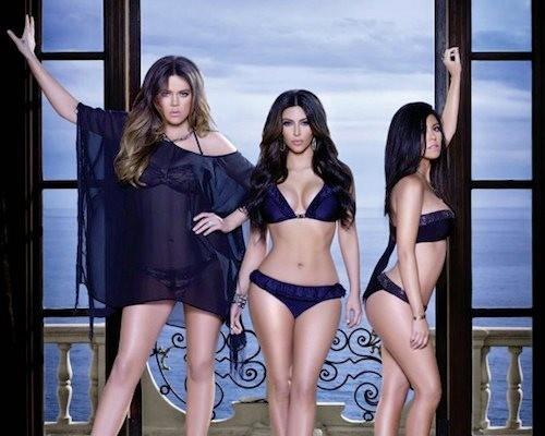 Les soeurs Kardashian pour la Kardashian Kollection !