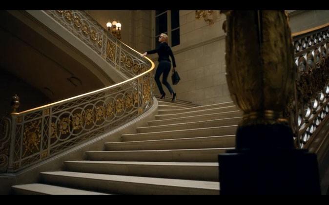 Charlize Theron se presse !
