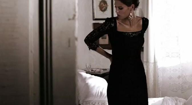 Bianca Balti pour Dolce & Gabbana