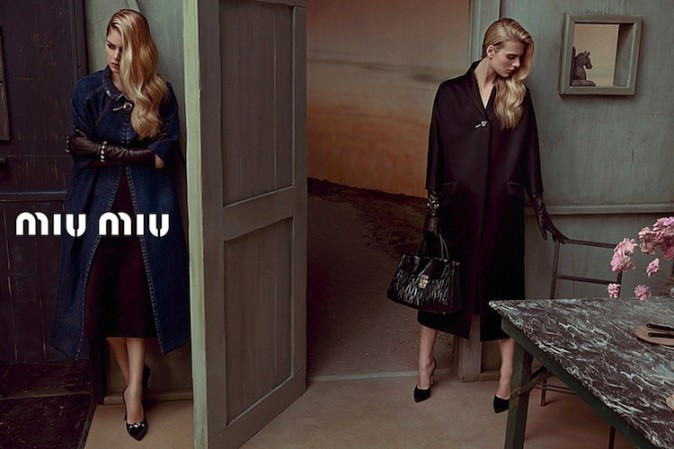 Campagne Automne 2013 Miu Miu