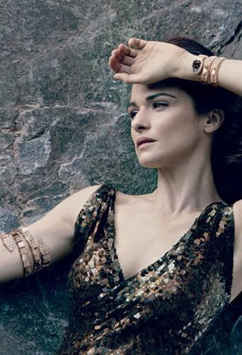 Mode : Elizabeth Taylor se réincarne en Rachel Weisz pour Serpenti...