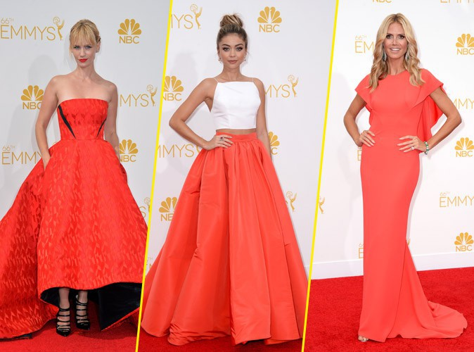 Les robes rouges des Emmy Awards 2014