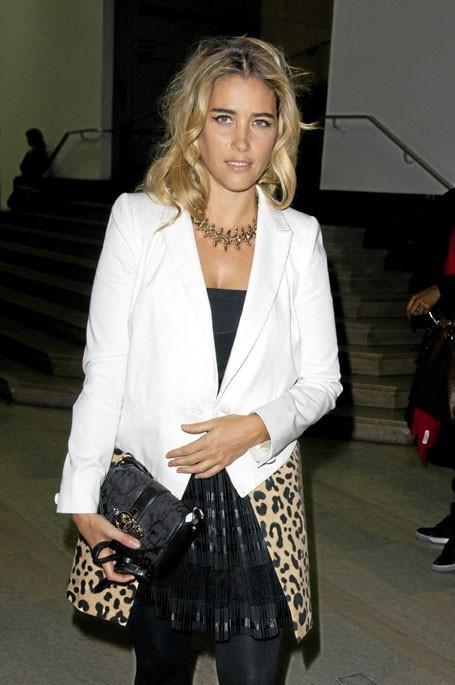 Vahina Giocante en Givenchy
