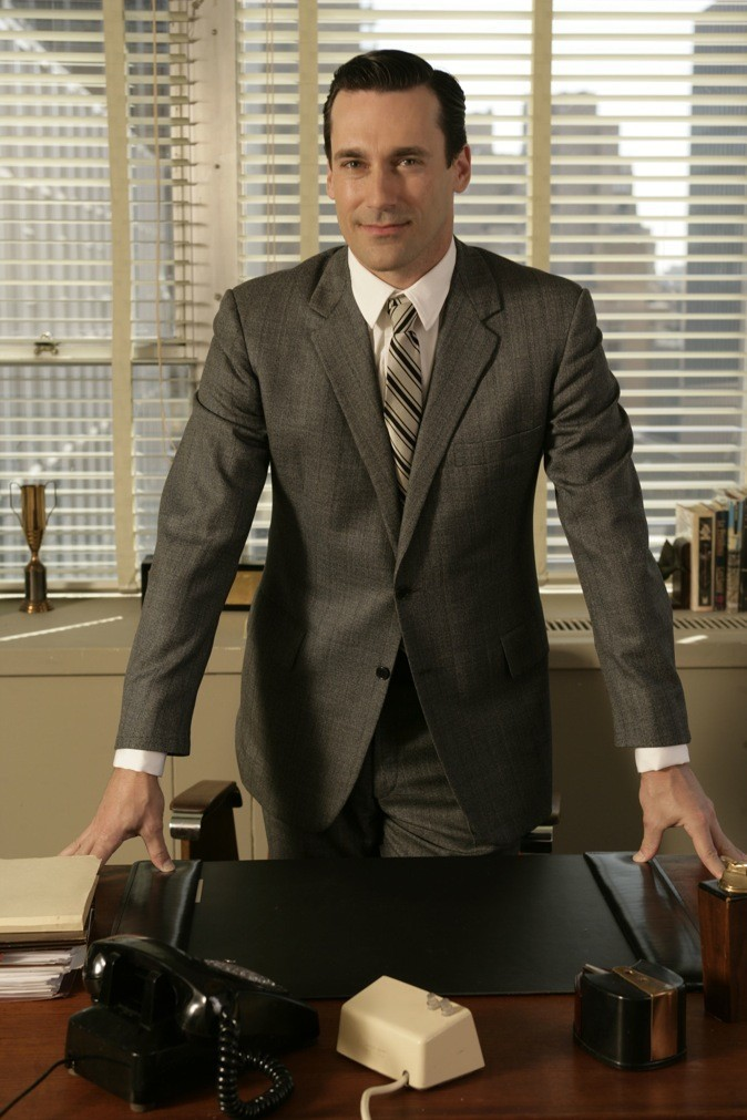 2008 : John Hamm dans Mad Men !