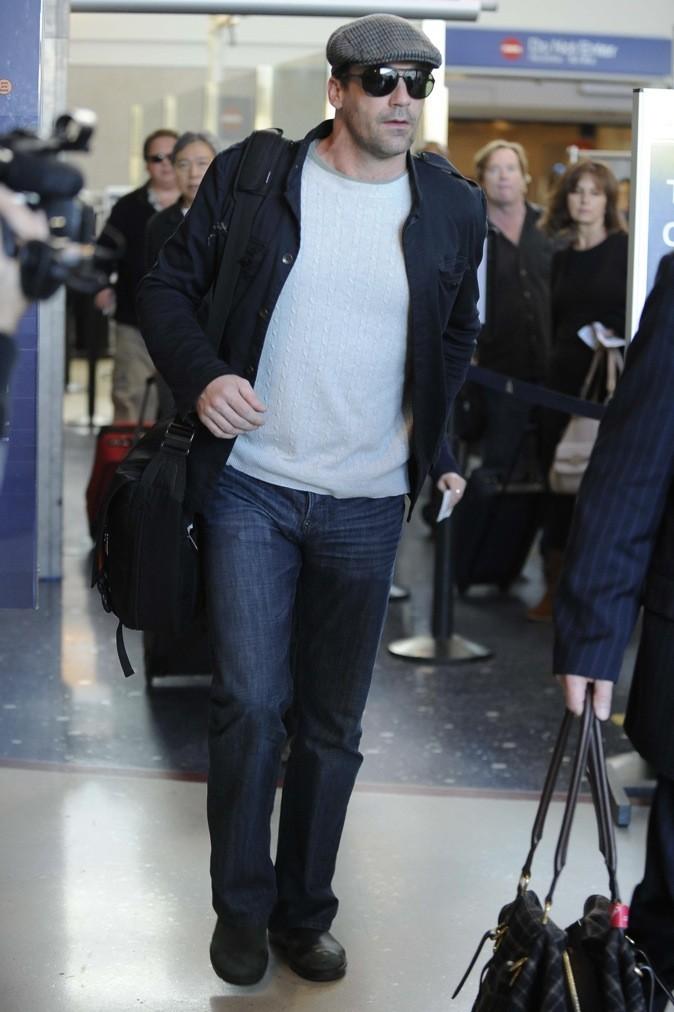 2010 : John Hamm à l'aeroport de LAX !