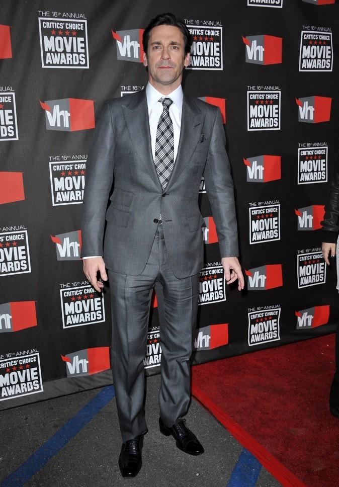 2011 : John Hamm lors des Critics Choice Movie Awards !