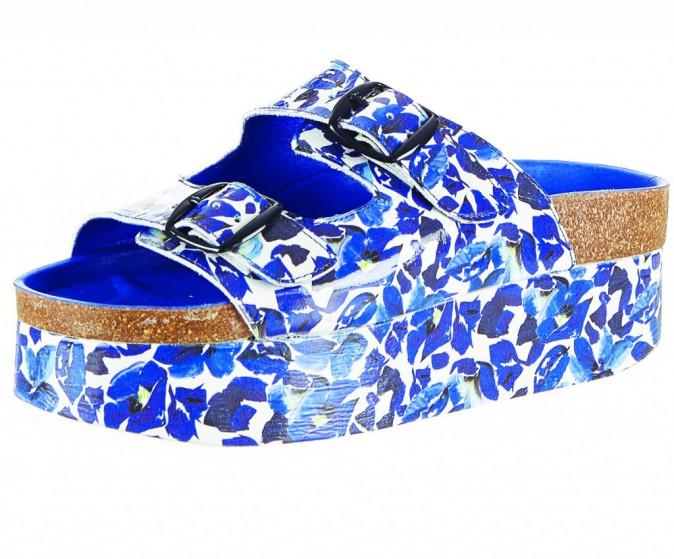 Sandales compensées, Topshop 60 €