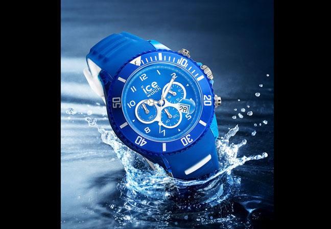 Florent Manaudou : le beau gosse des bassins signe une collection de montres avec Ice-Watch !