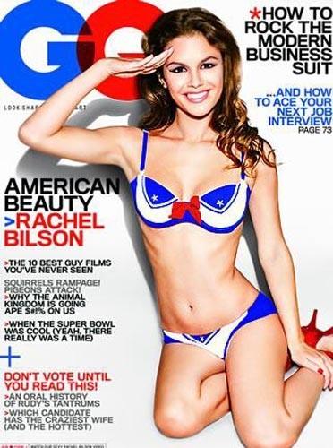 Rachel Bilson en couverture de GQ