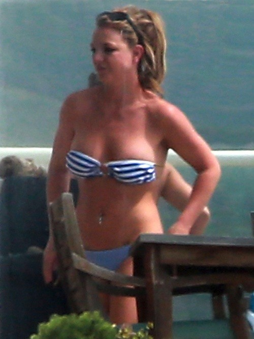 Britney Spears le 25 mars 2013