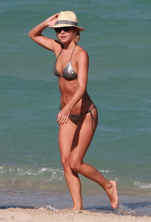Julianne Hough à Miami, le 26 avril 2013