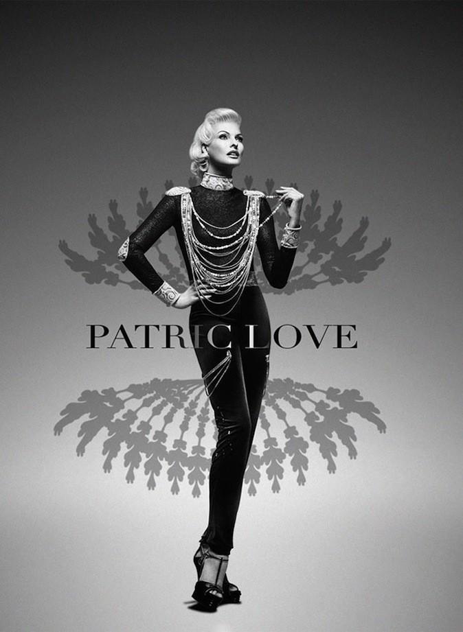 Linda Evangelista pour Patric Love !