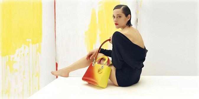 Marion Cotillard pour Lady Dior !