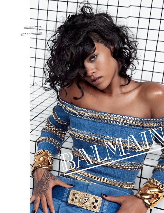 Rihanna pour Balmain !
