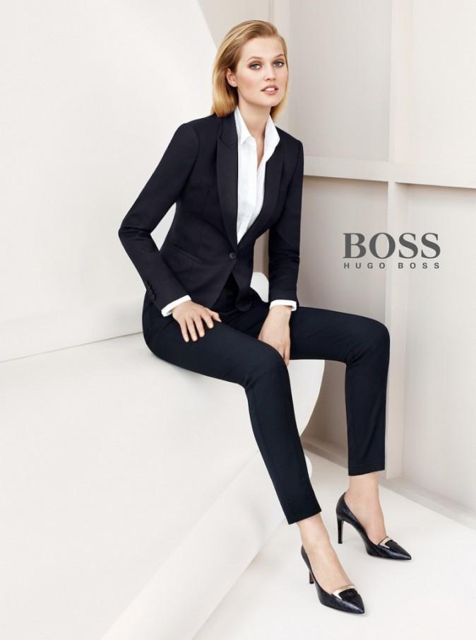 Toni Garrn pour Hugo Boss !