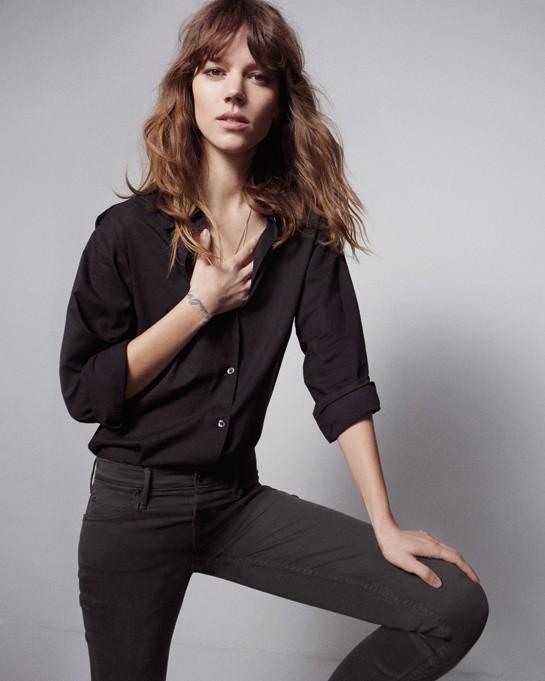 Mode: Freja Beha Erichsen : la beauté danoise se lance dans le business du jean pour soutenir Médecins Sans Frontières !