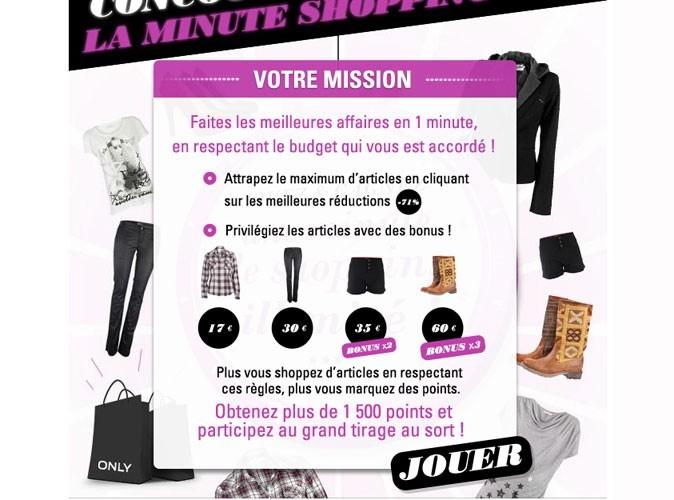 Le jeu concours Only sur public.fr : tendance et ludique !