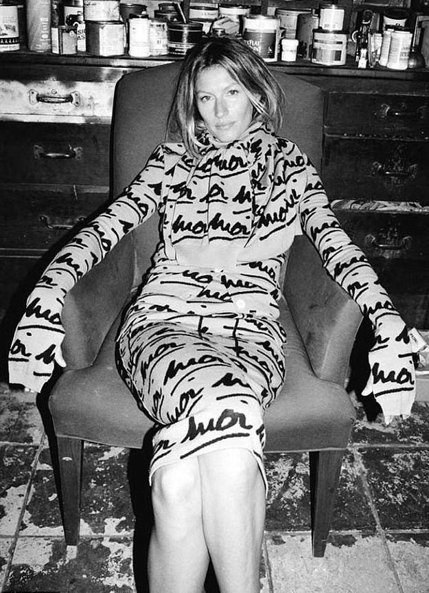 Gisèle Bündchen naturelle et sensuelle pour la campagne Automne/Hiver 2014-2015 de Sonia Rykiel !