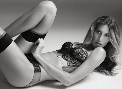 Gisele Bündchen pour sa nouvelle collection de lingerie Brazilian Intimates