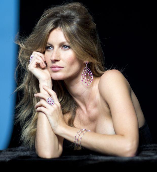 Mode : Gisele Bündchen, un diamant brut pour la nouvelle campagne des bijoux Vivara !