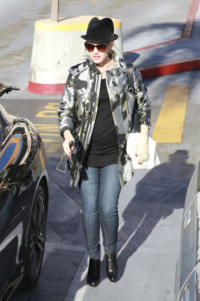 Gwen Stefani enceinte mais toujours aussi bien lookée !