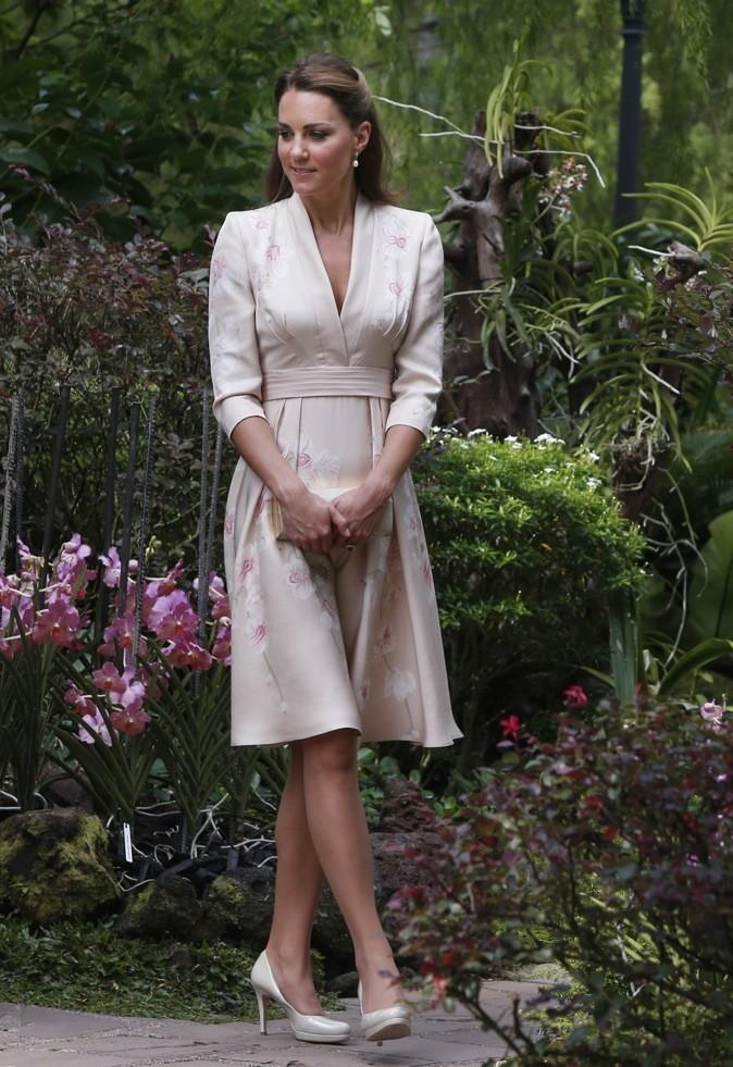 les 10 célébrités les mieux habillées de l'année: 2 ème place Kate Middleton !