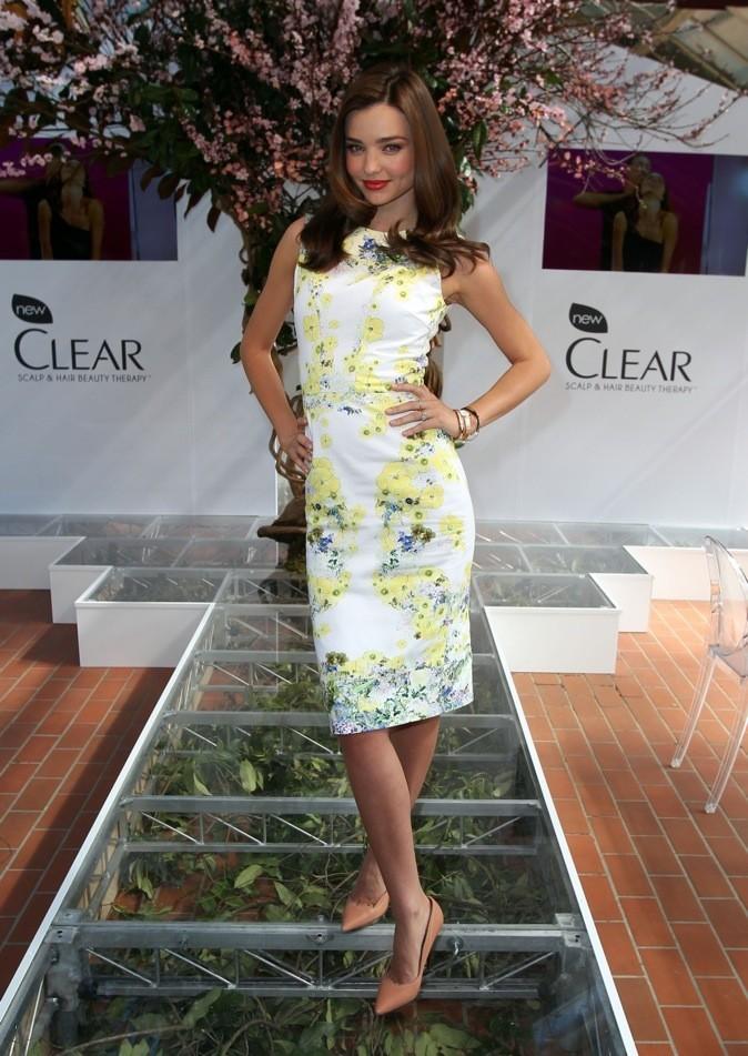 les 10 célébrités les mieux habillées de l'année: 5 ème place Miranda Kerr !