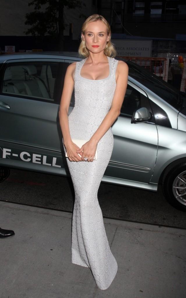 les 10 célébrités les mieux habillées de l'année: 9 ème place Diane Kruger!