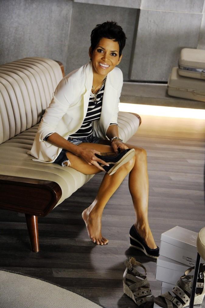 "Halle Berry pour sa ligne de chaussures ""5ths Avenue by Halle Berry"""