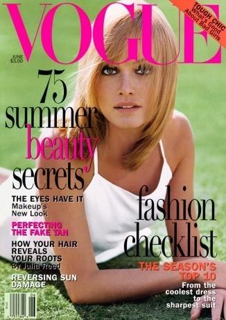 Amber Valletta : 16 couvertures pour Vogue !