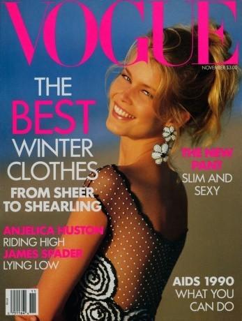 Claudia Schiffer : 16 couvertures pour Vogue!