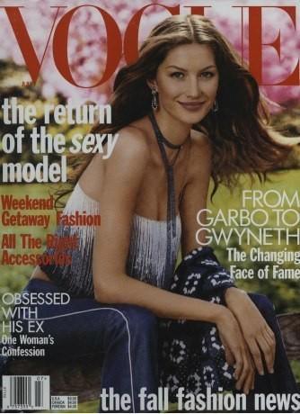 Gisele Bündchen : 11 couvertures pour Vogue !
