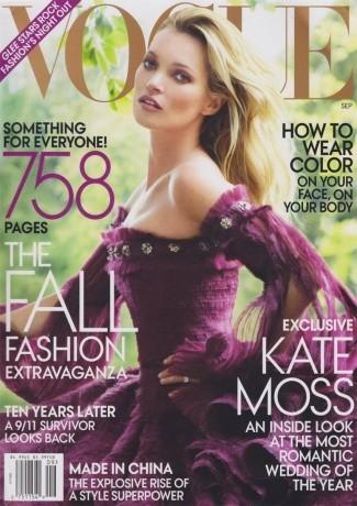Kate Moss : 8 couvertures pour Vogue!